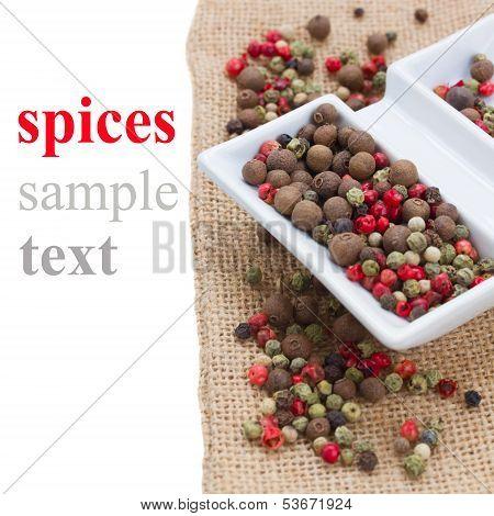 Mix of peppecorn