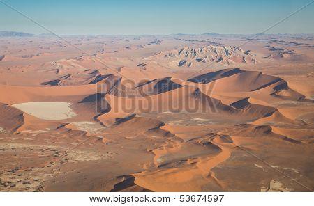 Desert Landscape (aerial view)