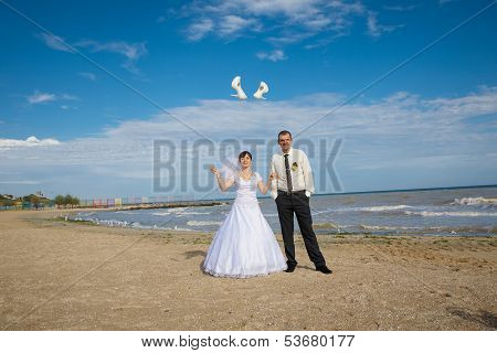 Bride Threw Shoes