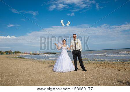 Bride Threw Shoes
