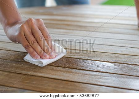 Impragnate Wooden Table