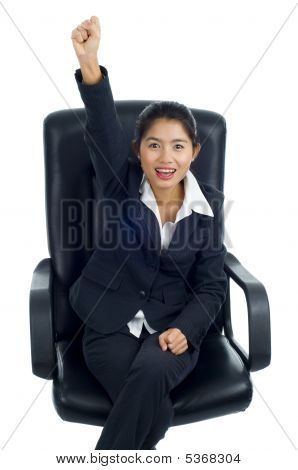 Successful Asian Business Woman
