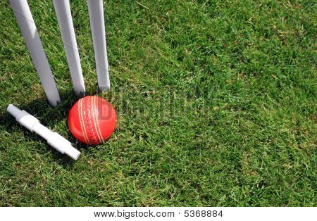 Stumps, Bail And Ball