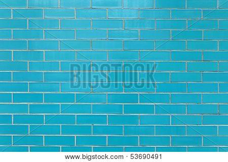 Blue Tiles Wall