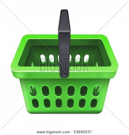 Shopping basket icon 10eps