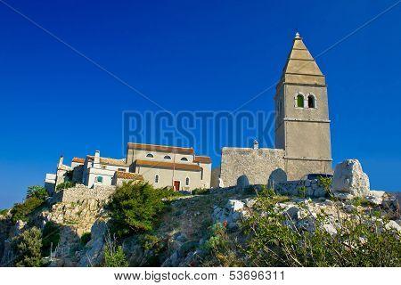 Stone Town Of Lubenice In Croatia