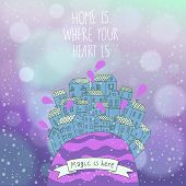 picture of home is where your heart is  - Heart is where your heart is - JPG