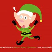 picture of  midget elves  - Illustration of Stressing Elf Vector Removable Text - JPG