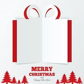 picture of paper craft  - Christmas box cut the paper - JPG