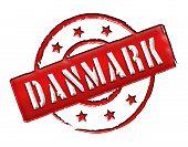Danmark / Denmark - Stamp poster