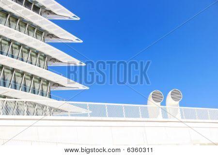 White Modern Building
