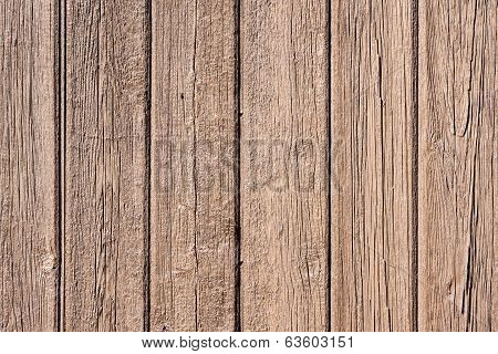 Painted Timber Board Background
