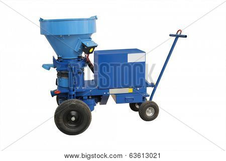 Movable mixer separator for chemical industry