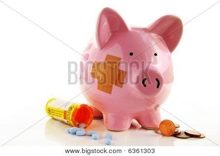 Piggy Pills White