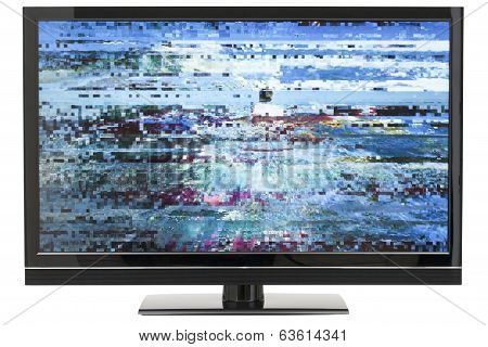 Digital Lcd TV Distortion