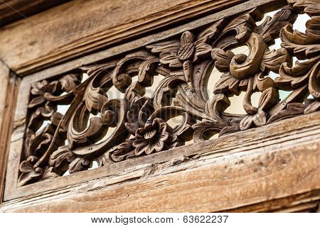 Floral Carvings