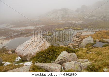 Pyrenees - Foggy Day