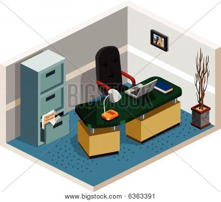 Empty Boss Room