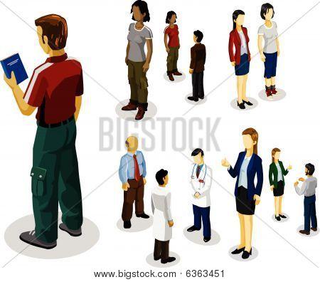People Isometric