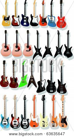 Guitar Bass Stock