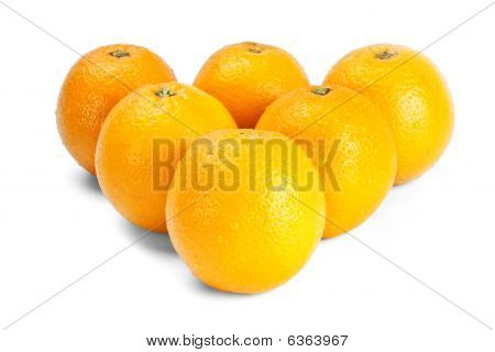 Oranges Like Billiard Balls
