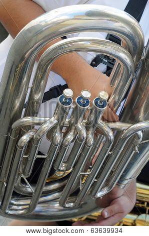 a trombone