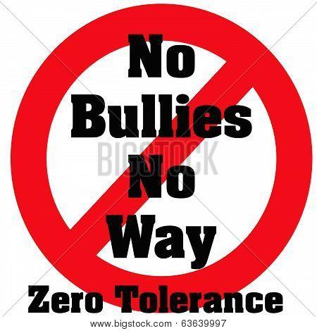 zero bullies