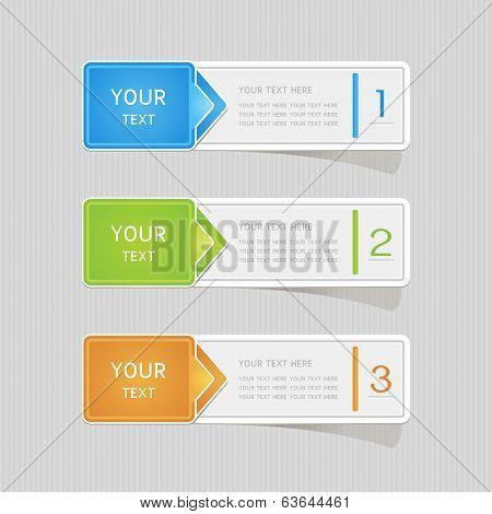 Sticker Label Paper Colorful Set