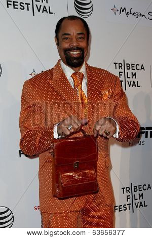 NEW YORK-APR 17: Former NBA player Walt