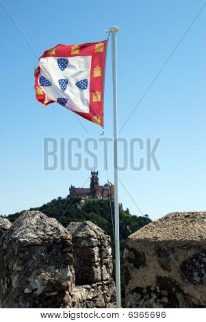 Castelo de Sintra bandeira