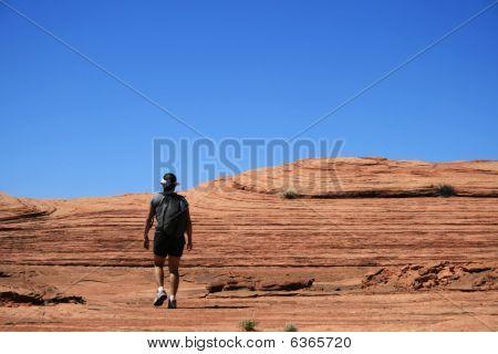 Slickrock Hiker