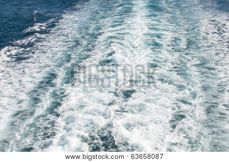 surf on the water surface