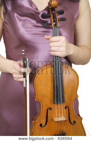 Violinist Closeup
