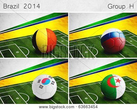 Brazil 2014, Group H