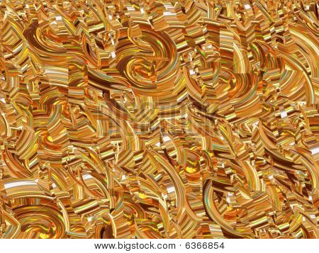 Gold Rainbow background