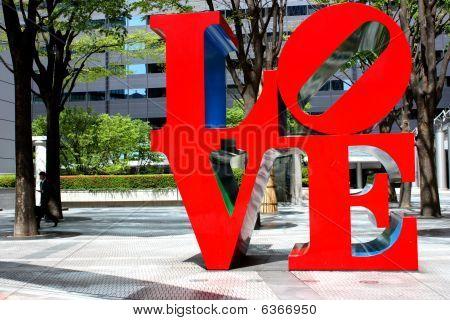 Shinjuku Love Sculpture