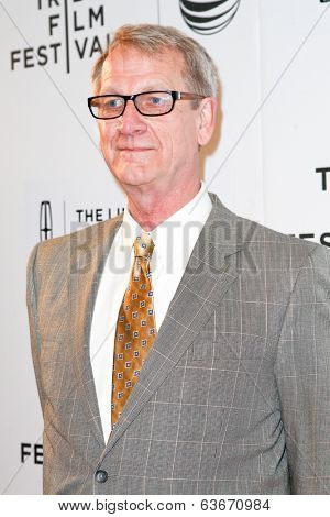 NEW YORK-APR 20: Writer Douglas Soesbe attends the