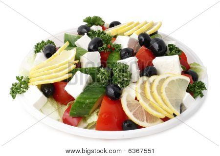 Greek Salad With Fetaki