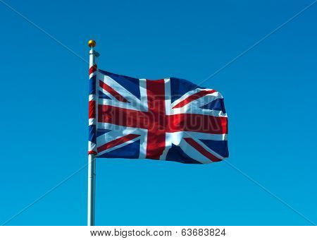Union Flag On Pole