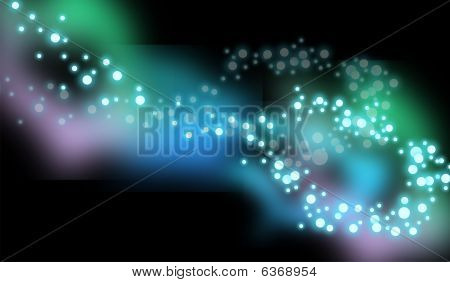 colourful particle background