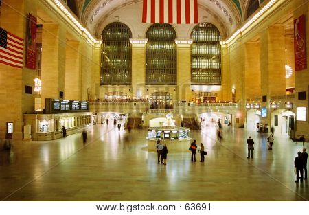 Grand Central Station: Night