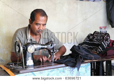 Indonesian tailor