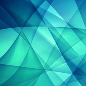 stock photo of refraction  - Abstract blue background - JPG