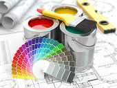 pic of paint palette  - Construction - JPG