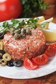image of tartar  - Tartar steak - JPG