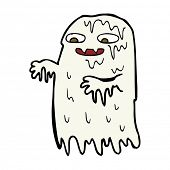 pic of grossed out  - cartoon gross slime ghost - JPG