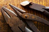 image of clippers  - Old pliers - JPG