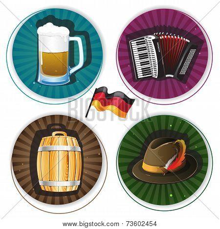 Oktoberfest Labels