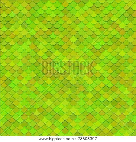 Fish scales texture. Vector art.
