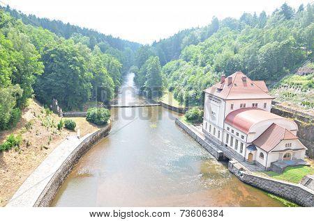 View Of Dam Les Kralovstvi